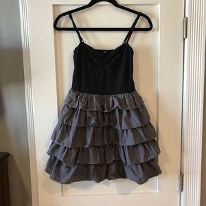 H&M Tiered A-Line Party Dress